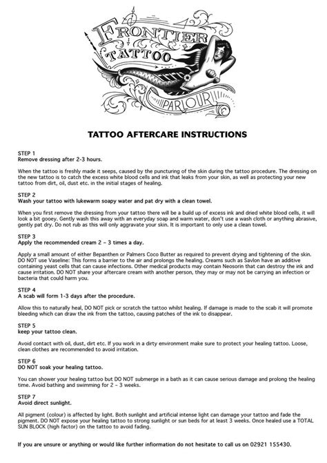 aftercare for a tattoo best 25 aftercare ideas on aftercare