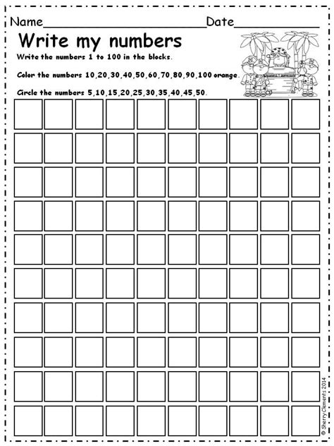 how to write numbers in a paper write numbers 1 100 find patterns 5 s numbers and math