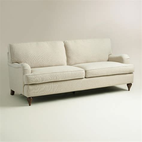sand linen maryn sofa world market