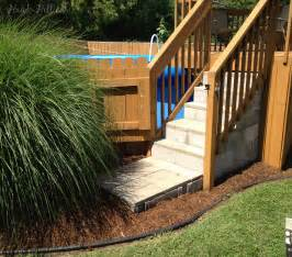 What Size Patio Umbrella Should I Get 100 Building Steps For Deck Best How To Add Stairs To Your Deck How Tos Diy Pictures Of