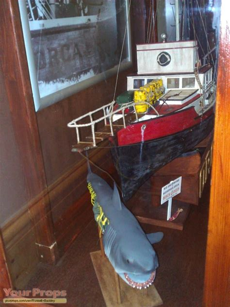 jaws orca boat piece jaws orca lobster fishing boat replica 3 ft made from