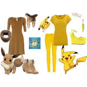 Halloween Pokemon Costumes Eevee Amp Pikachu Halloween Costumes Polyvore