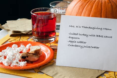 kindergarten thanksgiving party food ideas  pictures