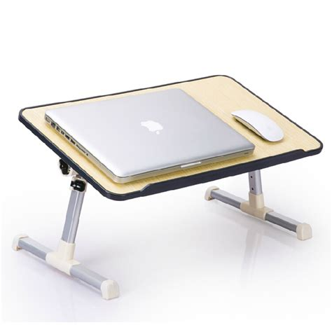 Portable Laptop Computer Tables On Wheels Laptop Table Laptop Desk For Bed
