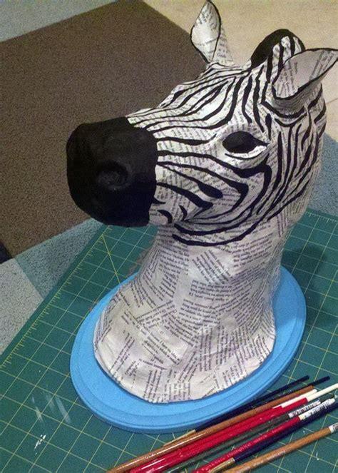 How To Make Paper Mache Animals - 25 best ideas about paper mache animals on