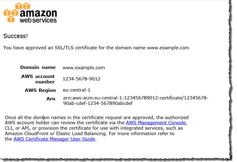 amazon owner name validate domain ownership aws certificate manager
