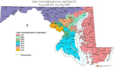Maryland Address Lookup 2002 Congressional District Plan