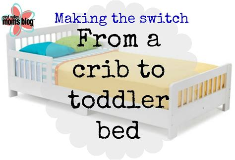 toddler from crib to bed from crib to toddler bed