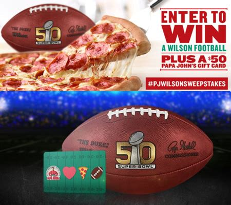 Groupon Papa John S Gift Card - win a 50 papa john s pizza gift card twitter required