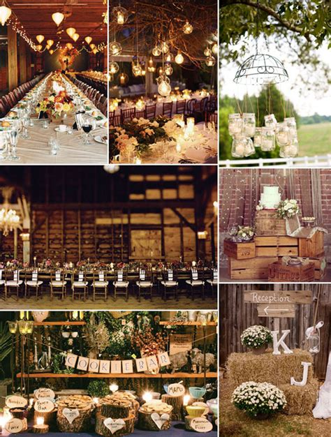 country style wedding decorations top 8 trending wedding theme ideas 2014