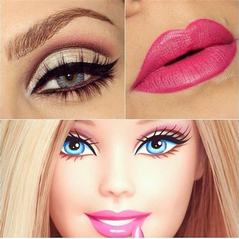 tutorial makeup barbie doll barbie makeup makeup pinterest barbie makeup makeup