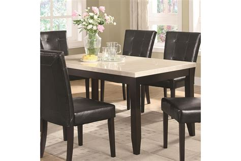 faux marble dining table casual dining tables anisa dining table with white faux