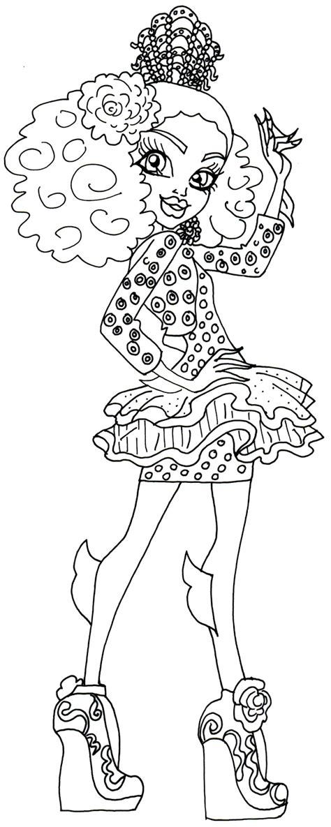 free printable monster high coloring pages october 2015 free printable monster high coloring pages december 2015