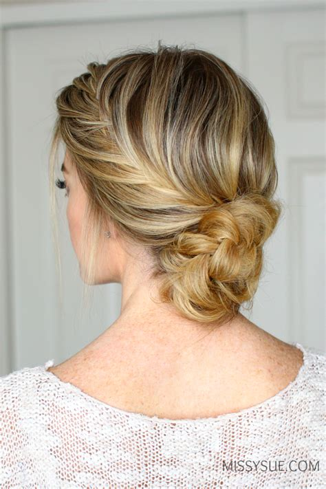 Fishtail Hairstyle by Fishtail Braid Updo Sue