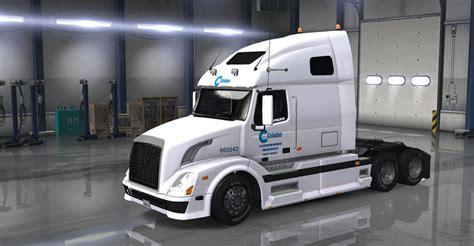 volvo vnl670 dc celadon volvo vnl 670 skin ats mod american truck