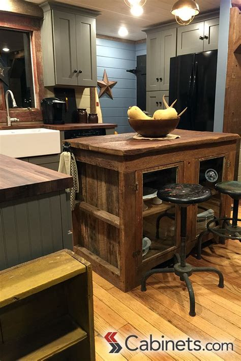kitchen island   reclaimed wood   perfect