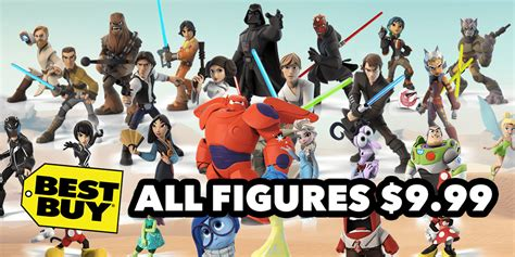 buy disney infinity figures deal preview all disney infinity figures on sale for 10