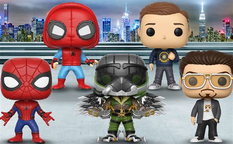 Funko Pop Marvel Spider Homecoming spider homecoming pop s by funko actionfiguresdaily