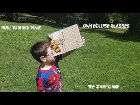 how do you make solar eclipse glasses at home how to make your own eclipse glasses viewer in 5 minutes