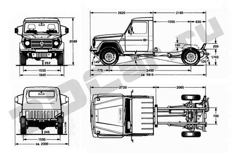G Wagon Sketches by Mercedes Classe G Casa Trotter