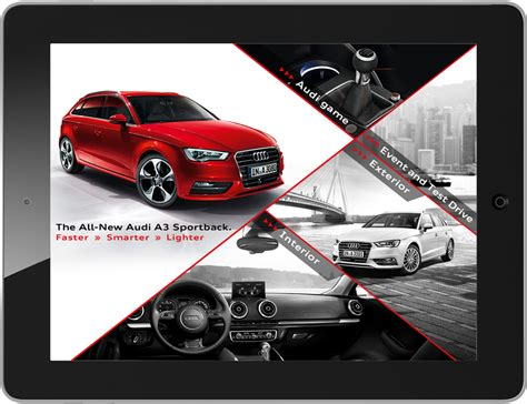 audi augmented reality arworks 3d salon for audi in augmented reality for iphone