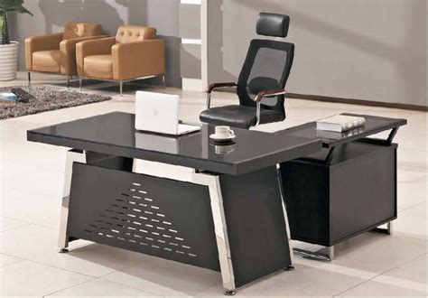 Modern Glass Office Desk Contemporary Executive Office Desk Memes