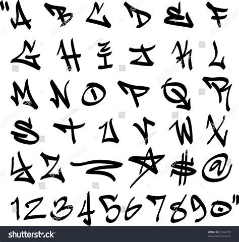 Simple Fancy Font Alphabet