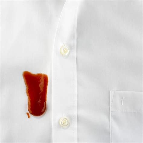 remove ketchup stains with 9 simple tips