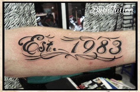 est tattoos designs est 1983 by buchtattoo on deviantart