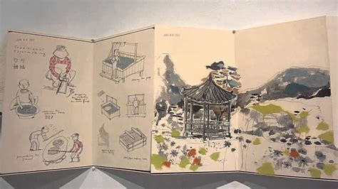 Korean Travel Log A Pop Up Sketchbook