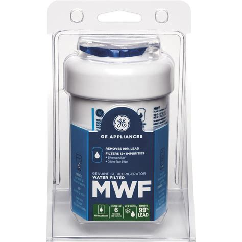 Mwf Plumbing by Ge Refrigerator Water Filter Mwf The Home Depot