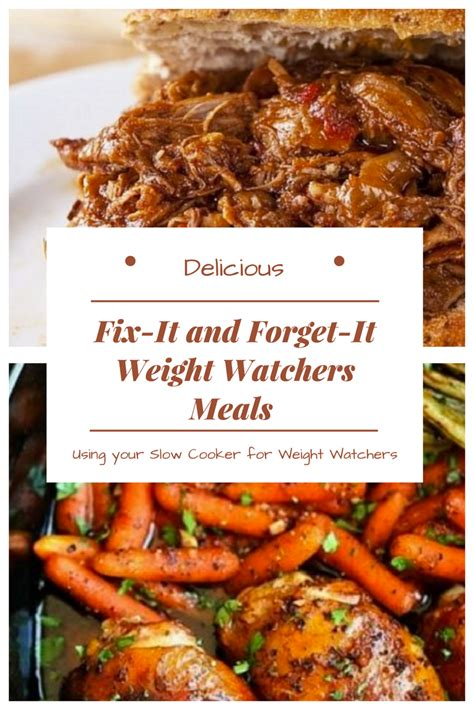fix it and forget it cooking for two 150 small batch cooker recipes books 15 delicious fix it and forget it weight watchers meals