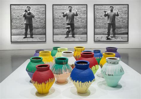Ai Weiwei Dropping Vase by Ai Weiwei Merges And Politics In Ago Show Review Toronto
