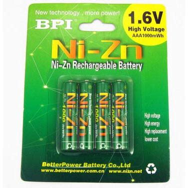 Enelong Bpi Ni Zn Aaa Battery 1000mwh With Button Top 4 Pcs Gre T30 enelong bpi ni zn aaa battery 1000mwh with button top 4
