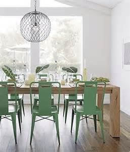 mint green chairs dining room