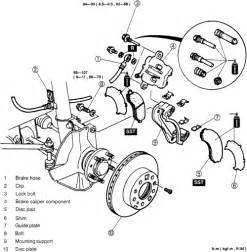 Brake System Assembly Repair Guides Front Disc Brakes Brake Caliper