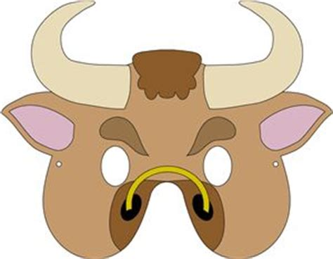 bull mask template the world s catalog of ideas
