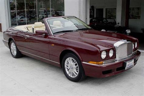 1999 bentley azure maroon 1999 bentley azure convertible car picture