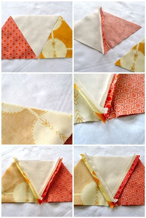quilt tutorial equilateral triangles 275 best triangle half square block quilts images on