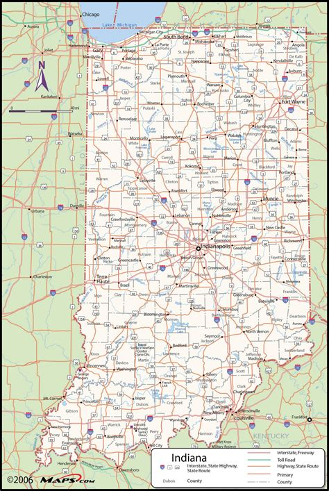 map of indiana counties indiana county wall map maps