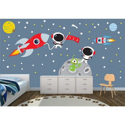 Wall Murals And Decals star wall decals for nursery for kids