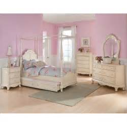 Full Bedroom Sets For Girls Details About Twin Canopy Bedroom Youth Princess Rebecca