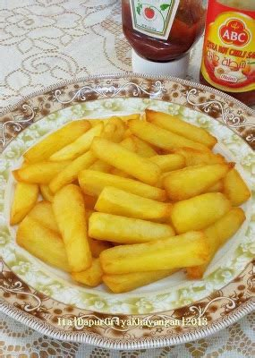 cara buat kentang goreng homemade dapur griya khayangan membuat kentang goreng sendiri