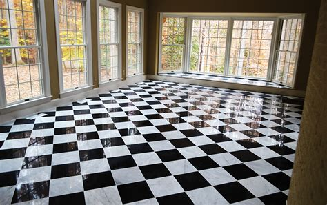 Black And White Marble Floor by Black And White Marble Floors Gen4congress