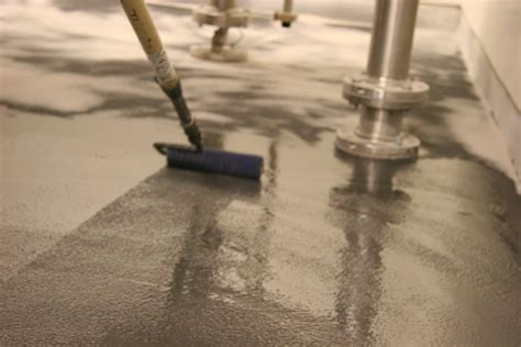 urethane cement composition flooring food
