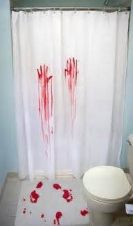Coolest Shower Curtains Bloody Shower Curtain