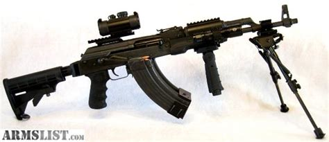 at arms for sale armslist for sale wasr 10 ak47 tactical battle rifle 7