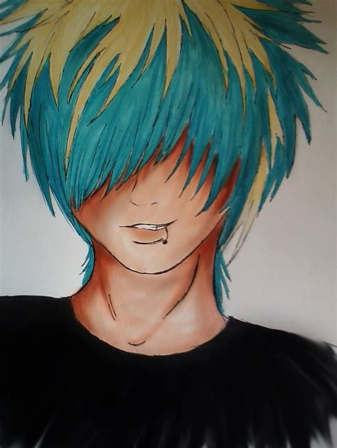 emo hairstyles drawing 97 best anime boy emo images on pinterest draw emo art