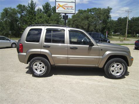 jeep liberty limited 2004 2003 jeep liberty limited 4wd car interior design
