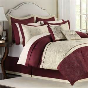 buy burgundy comforter set from bed bath beyond